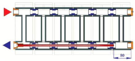 Удлинитель потока для радиаторов
