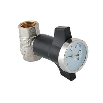 Valtec VT.808.N Кран шаровой c термометром