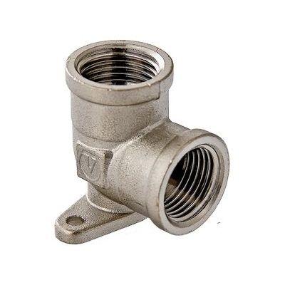 Valtec VTr.751.N Фитинг резьбовой – угольник с креплением (водорозетка)